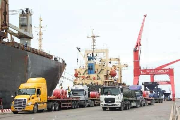 Cảng Quốc tế Long An đón đoàn công tác của Bộ Kế hoạch và Đầu tư