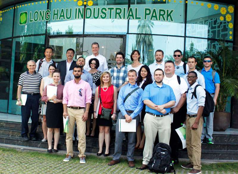 Master Students Of Scienece In Supply Chain - Texas Christian University – Neeley Business School Visit Long Hau Industrial Park